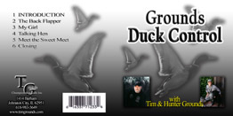 Grounds Duck Control™  CD instruction