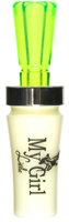 MY LITTLE GIRL™    duck call, Ivory w/ Chartreuse
