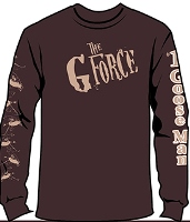 Brown Long Sleeve T-Shirt 40th Logo