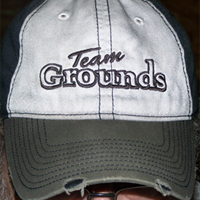 Team Grounds - New Oil Stained Cap