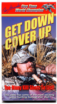 """Get Down and Cover Up ™"" action video"