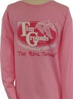 Lady, long sleeve tee, Real Thang