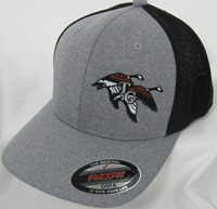 LOGO CAP2,  Heather gray, black mesh back