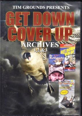 """""""Archive Get Down Cover Up"""" 1, 2, 3 DVD"""
